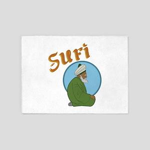 Sufi 5'x7'Area Rug