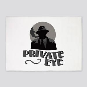 Private Eye 5'x7'Area Rug