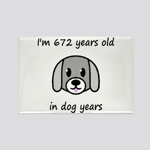 96 dog years 2 - 2 Magnets