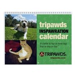 Tripawds Wall Calendar #22 - New For 2018