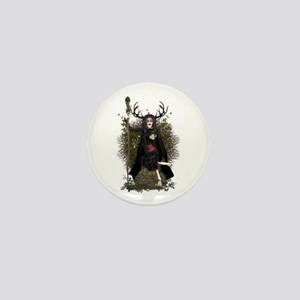 Hedge Witch ~ Hetty Mini Button