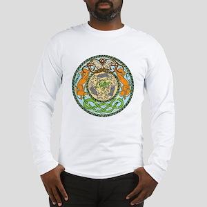 Fox cat snake mice Long Sleeve T-Shirt
