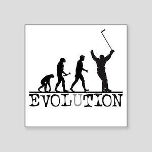 "Evolution Hockey Square Sticker 3"" x 3"""