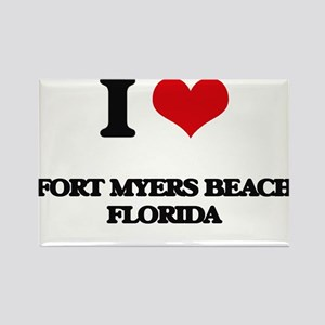 I love Fort Myers Beach Florida Magnets