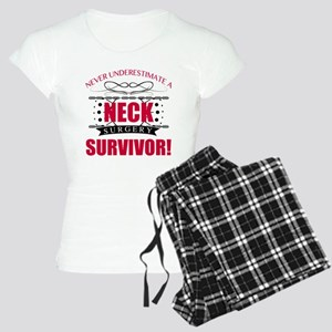 Neck Surgery Survivor Pajamas