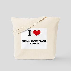 I love Indian Rocks Beach Florida Tote Bag