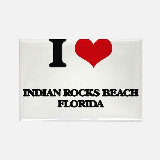 I love Indian Rocks Beach Florida Magnets