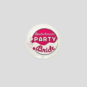 Bride Bachelorette Party Mini Button