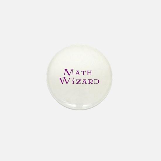 Math Wizard Mini Button