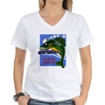 USS JALLAO Women's V-Neck T-Shirt