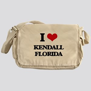 I love Kendall Florida Messenger Bag