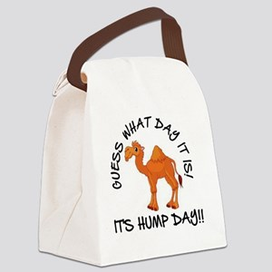 IT'S HUMP DAY Canvas Lunch Bag