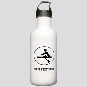 Rower Oval (Custom) Water Bottle