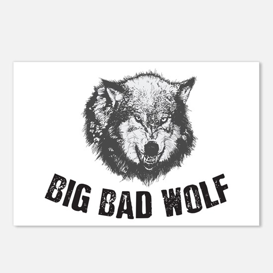 Big Bad Wolf Postcards (Package of 8)