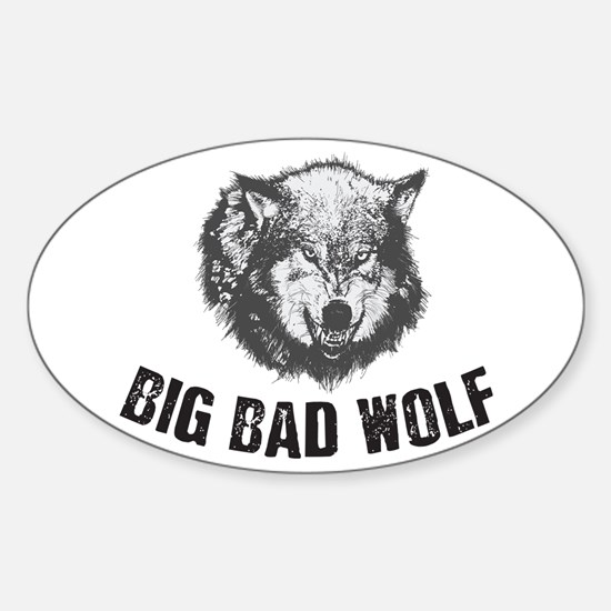 Big Bad Wolf Decal