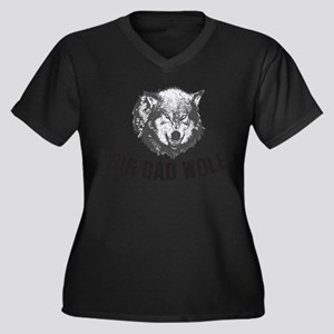 Big Bad Wolf Plus Size T-Shirt
