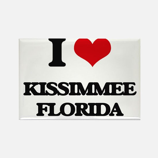 I love Kissimmee Florida Magnets