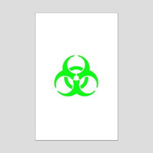 Bio-Hazard Mini Poster Print