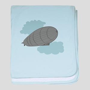 Air Zeppelin baby blanket