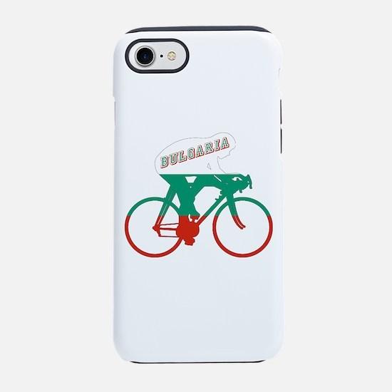 Bulgaria Cycling iPhone 7 Tough Case