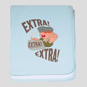 Extra Extra baby blanket
