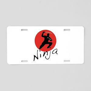 Ninja Ninja Aluminum License Plate