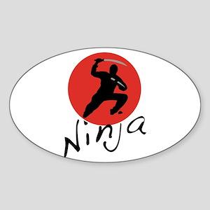 Ninja Ninja Sticker