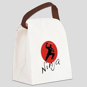 Ninja Ninja Canvas Lunch Bag