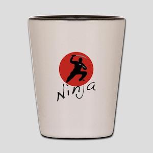 Ninja Ninja Shot Glass