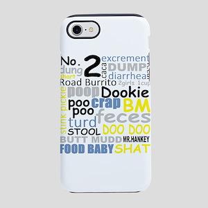 FUNNY BATHROOM/ PLUMBER POO iPhone 7 Tough Case