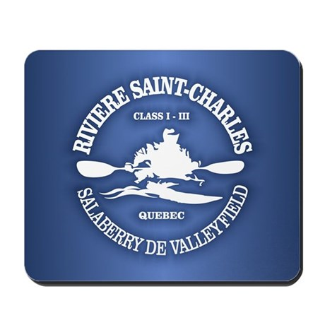 Riviere Saint-Charles Mousepad