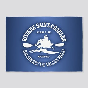 Riviere Saint-Charles 5'x7'Area Rug