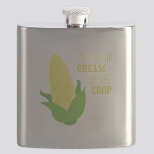 You're The Cream Of The Crop Flask
