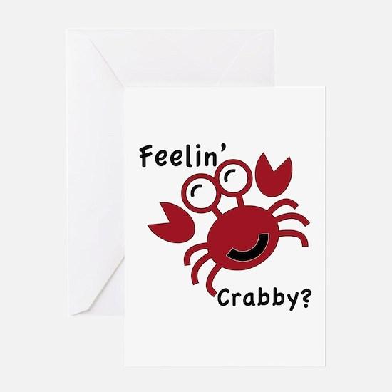Feelin' Crabby? Greeting Cards