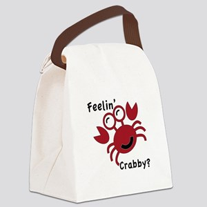Feelin' Crabby? Canvas Lunch Bag