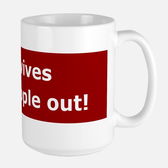 Midwives Help People Out Large Mug
