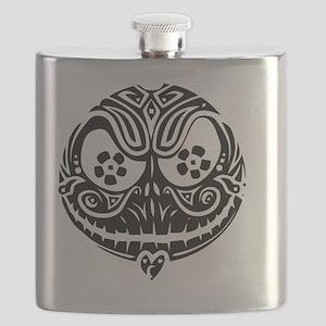 Jack Scarry Face Flask