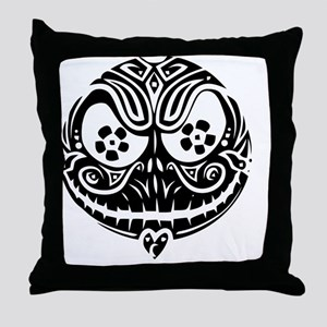 Jack Scarry Face Throw Pillow