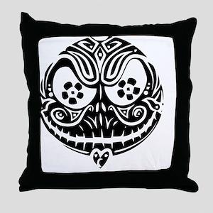 Jack Scarry Face Throw Pillow