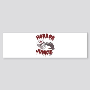 Horror Junkie Bumper Sticker