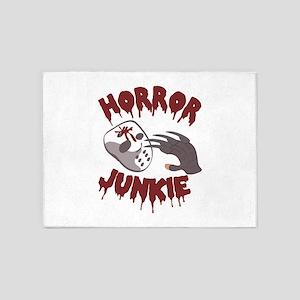 Horror Junkie 5'x7'Area Rug