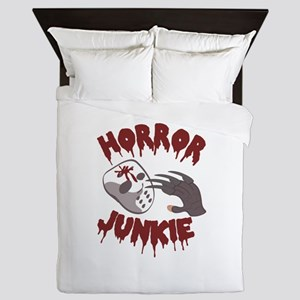 Horror Junkie Queen Duvet