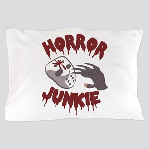 Horror Junkie Pillow Case