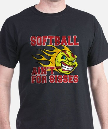 softball sisses(blk) T-Shirt