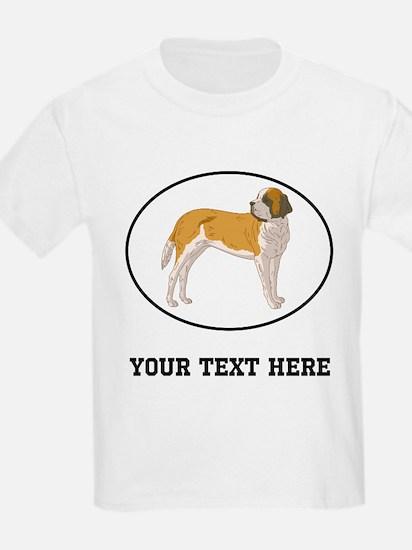 Custom Saint Bernard T-Shirt