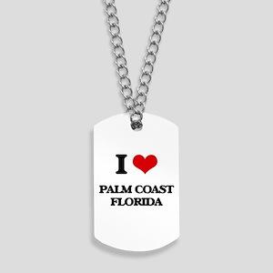 I love Palm Coast Florida Dog Tags