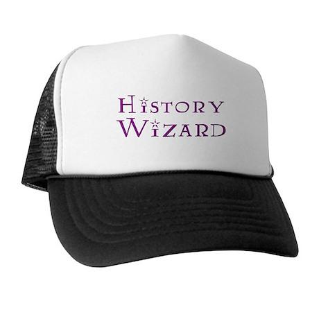 History Wizard Trucker Hat