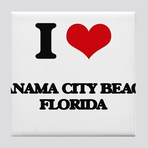 I love Panama City Beach Florida Tile Coaster