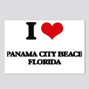 I love Panama City Beach Postcards (Package of 8)