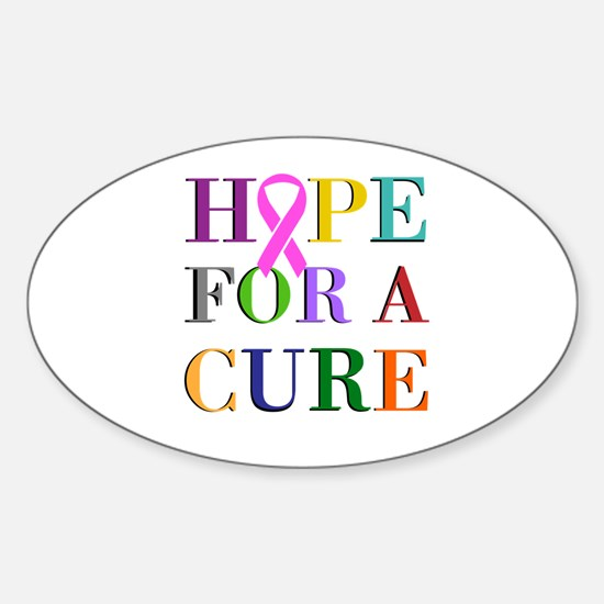 Hope For A Cure Decal